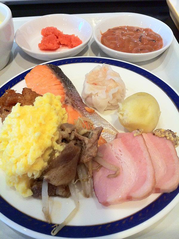札幌東急イン ホテルの朝食バイキング