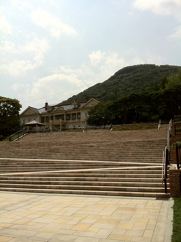元町公園にある旧函館区公会堂
